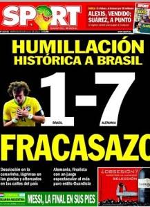 Brazilien Deutschland semifinal